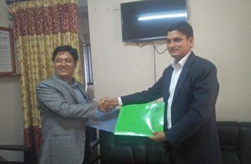 द टिम्बर कर्पोरेशन अफ नेपाल लि. र काष्ठमण्डप पुनर्निर्माण समिति बिच काष्ठमण्डप पुनर्निर्माणका लागि काठ आपूर्ति सम्बन्धमा समझदारी